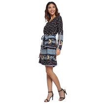 Nelida Cape Sleeve Dress by Chelsea