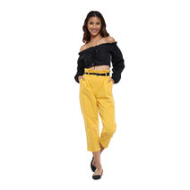 Corset Long Sleeves Crop Top by The Fifth Clothing