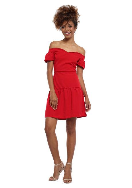 Moya Off Shoulder Dress by Chelsea
