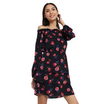 Maribel Off Shoulder Layered Dress by Chelsea