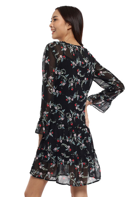 Modesta Long Sleeves Dress by Chelsea