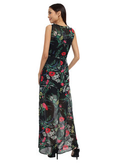 Maite Maxi Cocktail Dress by Chelsea