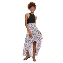Enriqua Layered Wrap Skirt by Chelsea