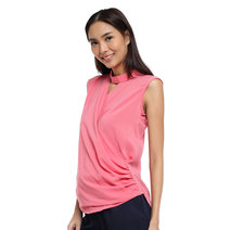Deikun Choker Sleeveless Wrap Top by Chelsea