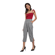 Adie High-waisted Cropped Pants by Loukha
