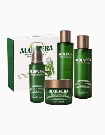 Aloe Vera Moisture Soothing Kit (4 Items) by FROMNATURE
