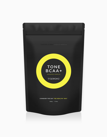 Tone BCAA + Advanced Complex Passionfruit Flavour (500g) by Tropeaka
