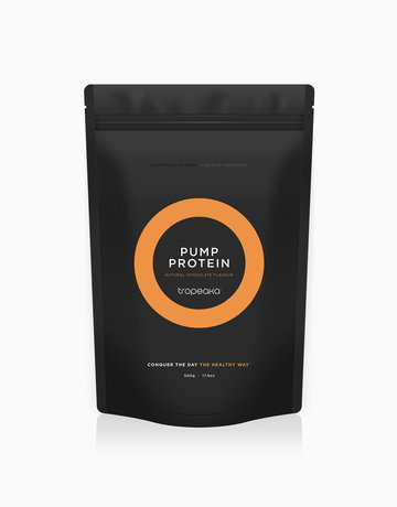 Pump Protein Natural Chocolate Flavour (500g) by Tropeaka