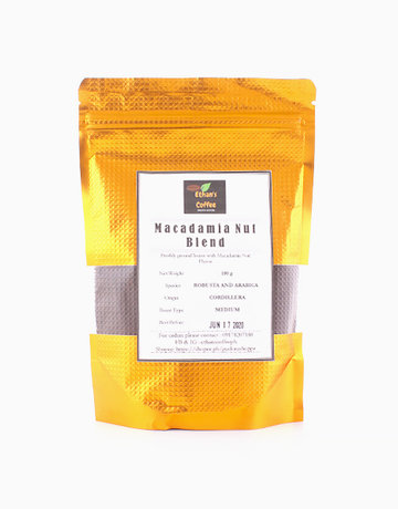 Macadamia Nut Blend Freshly Ground Coffee 100 g by Ethan's Coffee