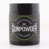 Gunpowder Clay Pomade (100g) by Gentleman Jack