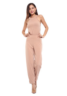 Angelica Halter Jumpsuit by Frassino Collezione