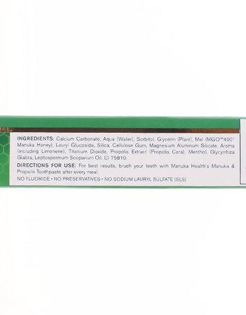 Manuka Honey Toothpaste With Manuka Oil by Manuka Health