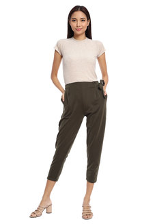 Side Tie Pants by Daily Design