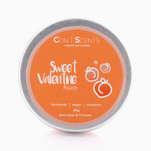 Peach Valentine Scented Soy Candle by Conscents PH