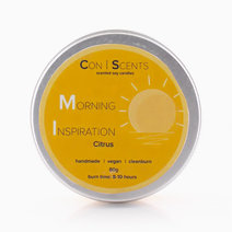 Morning Inspiration Scented Soy Candle by Conscents PH