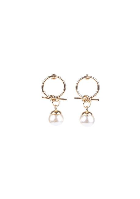 Coast Pearl Earrings by EI Project