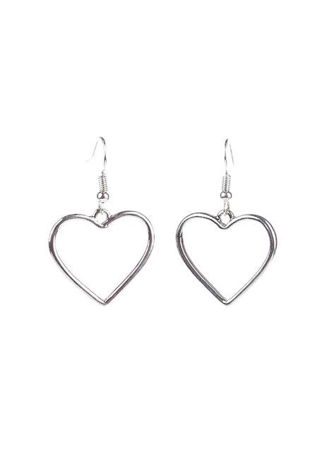 Lenne Heart Earrings by Dusty Cloud