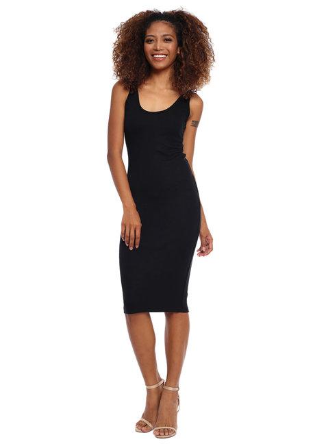 Amelie Sleeveless Ribbed Midi Dress by Mishia Clothing