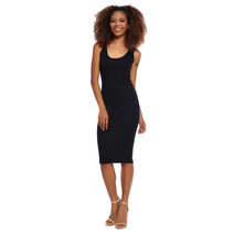 Amelie Sleeveless Ribbed Midi Dress by Mishia Clothing