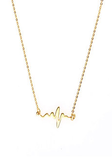 Agnes Heartbeat Necklace by Dusty Cloud