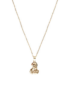 Donna Mother and Child Necklace by Dusty Cloud