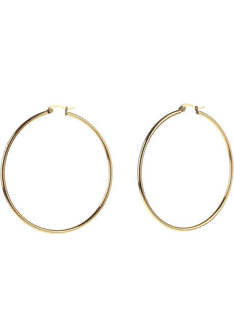 Willow 6cm Hoop Earrings by Dusty Cloud