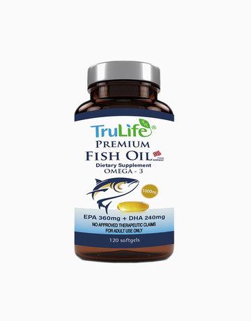 Premium Fish Oil (120 Caps) by TruLife