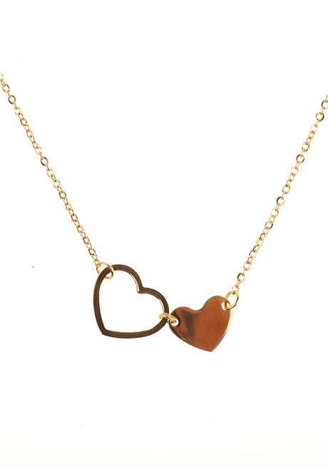 Idda Heart Necklace by Dusty Cloud
