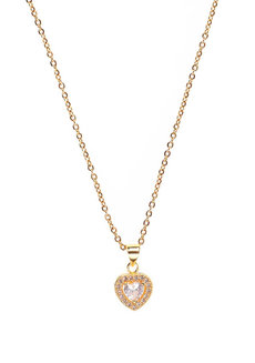 Martine Heart Necklace by Dusty Cloud
