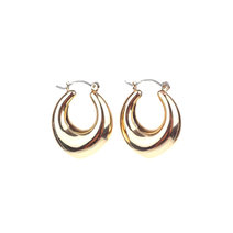 LISA (Thick Gold Hoop Earrings by Kera & Co
