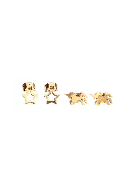 Dream Stainless Stud Earrings by EI Project