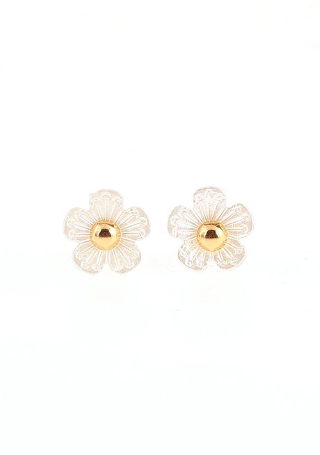 Convertible Anemone/Dome Stud 2 in 1 Earrings by EI Project