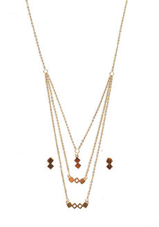 3-in-1 Layered Necklace by EI Project