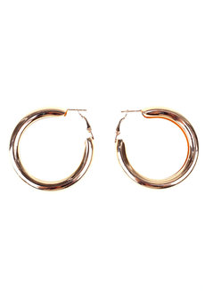 Bellagio Thick Hoop Earrings by Loukha