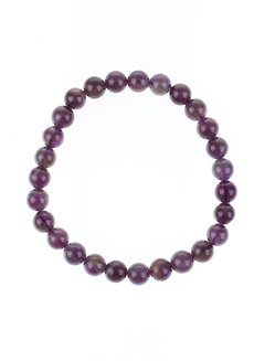 Amethyst Bracelet (6mm) by Made By KCA
