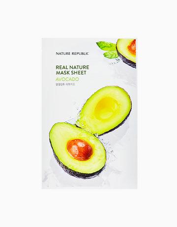 Real Nature Avocado Mask Sheet by Nature Republic
