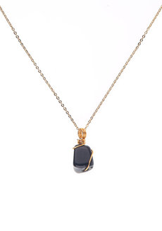 Onyx Gemstone Necklace by Made By KCA