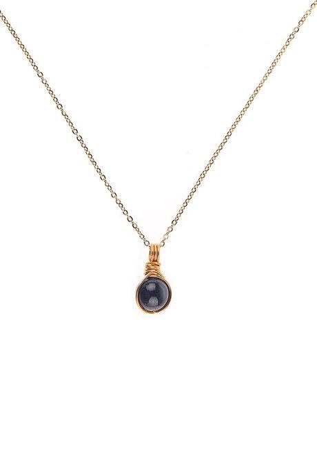 Garnet Gemstone Necklace by Made By KCA