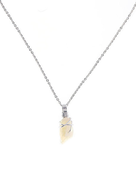 Citrine Gemstone Necklace by Made By KCA