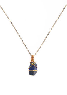 Lapis Lazuli Gemstone Necklace by Made By KCA