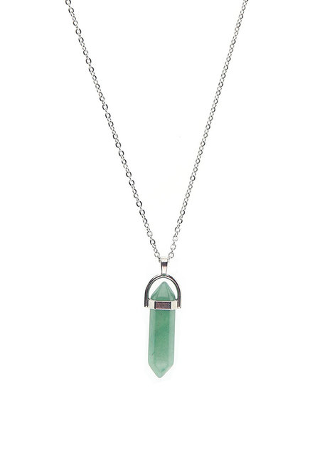 Aventurine Double Terminated Necklace by Made By KCA