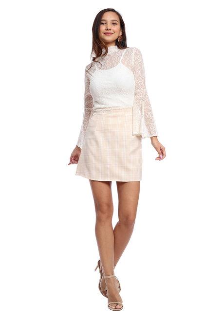 Plaid School Girl Skirt by Fudge Rock