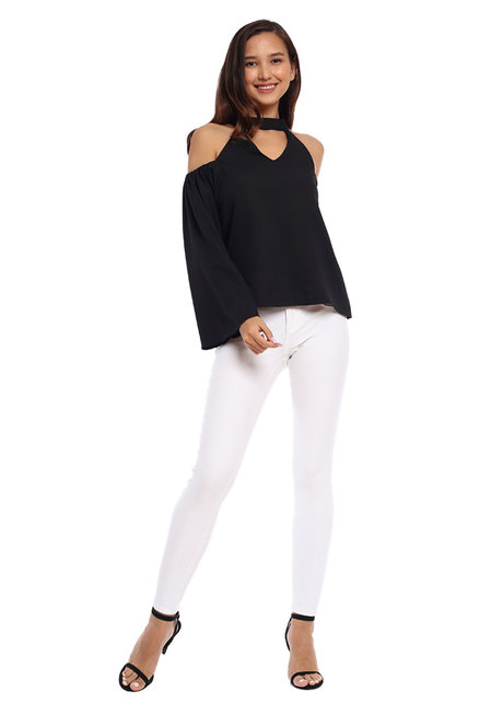 Charlie Choker Top by Toppicks Clothing