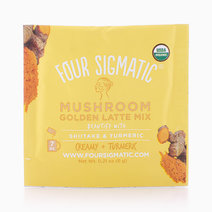 Golden Latte With Shiitake & Turmeric Sachet by Four Sigmatic