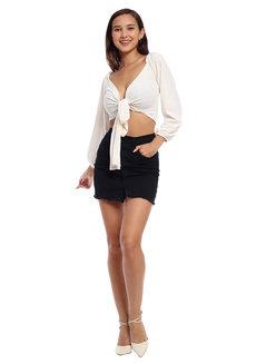 Regina Multi-Way Wrap Top by Morning Clothing