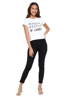 Madly Deeply In Love! Statement Top by Glamour Studio