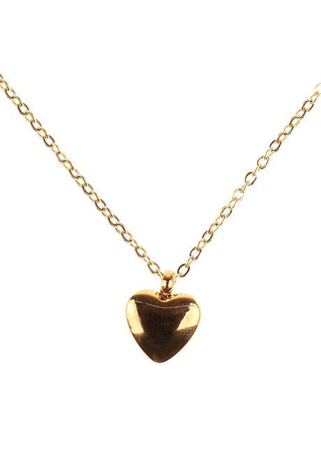Felicity Heart Necklace by Dusty Cloud