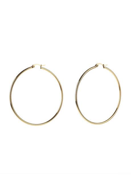 Quinn 5cm Hoop Earrings by Dusty Cloud