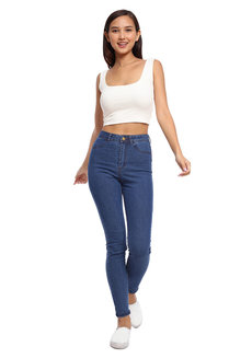 Isabelle Cropped Tank Top by Morning Clothing