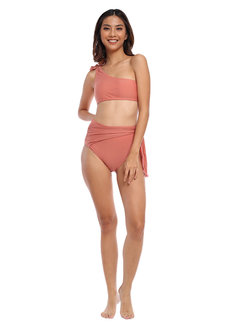 One Shoulder Wrap High Waist Set by EIKA Swimwear